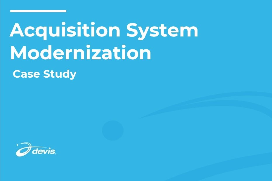 Thumbnail image of Acquisition System Modernization