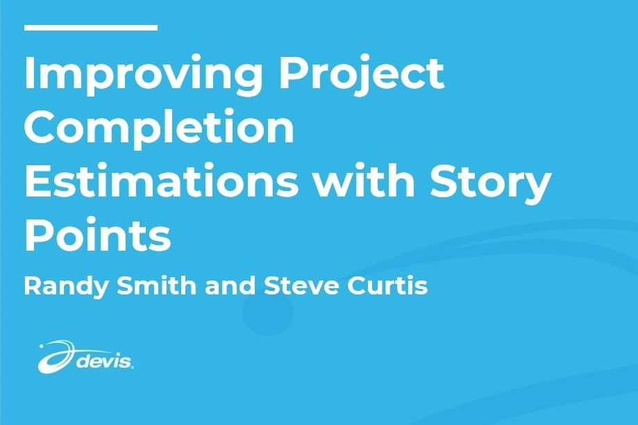 Thumbnail image of Improving Project Completion Estimations with Story Points