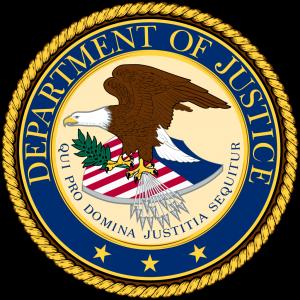 U.S. Department of Justice (DOJ) Logo